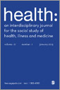 Health: An Interdisciplinary Journal for the Social Study of Health, Illness and Medicine
