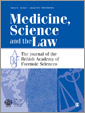 Medicine, Science and the Law