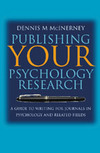 Publishing Your Psychology Research