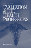 Evaluation & the Health Professions