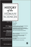 History of the Human Sciences