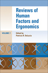 Reviews of Human Factors and Ergonomics