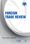 Foreign Trade Review