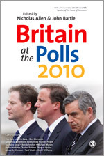 Britain at the Polls 2010 cover