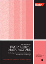 Proceedings of the Institution of Mechanical Engineers. Part B, Journal of Engineering Manufacture